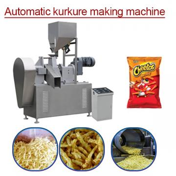 100kw ISO Certification Automatic Kurkure Making Machine Adopts Corn Grits As Ingredients