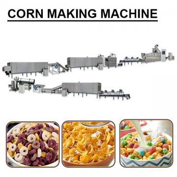 Precision 400-500kg/h Capacity Corn Making Machine With Cheap Price