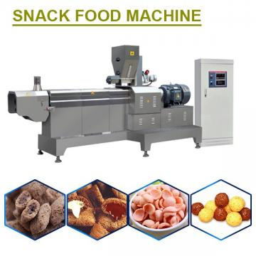 Safe Stainless Steel Snack Food Machine With 100-500kg/h Capacity