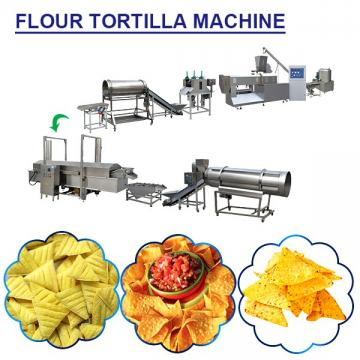 Industrial Stainless Steel Flour Tortilla Machine With 120-500kgs/h Production Capacity