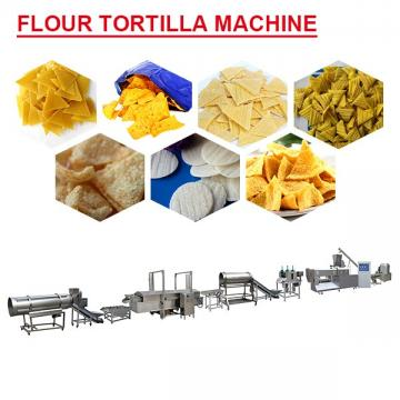 High Precision Flour Tortilla Machine With Grain Flour As Raw Materials