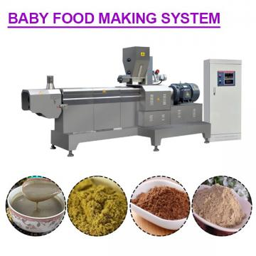 Easy Operation Stainless Steel Baby Food Making System With 120-150kg/h Output