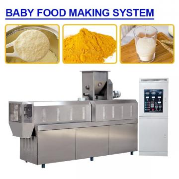 Clean Easily 70Kw High Accuracy Baby Food Making System