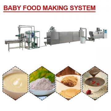 ISO Certification Baby Food Making System With Corn As Raw Materials