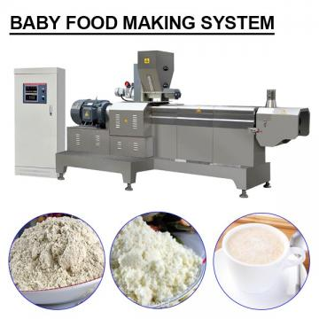 50kw Stainless Steel Baby Food Making System For Nutrition Powder
