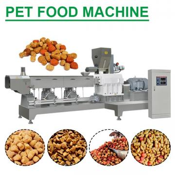 380V/50Hz CE Certification Pet Food Machine With 120-150kg/h Capacity
