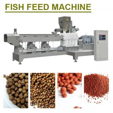 Easy Operation Fish Feed Machine With Corn Powder As Raw Materials