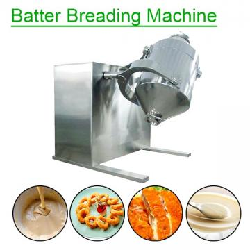 380V Stainless Steel Batter Breading Machine With Self-Cleaning