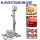 High Precision Burger Forming Machine Fully Automatic Production Line