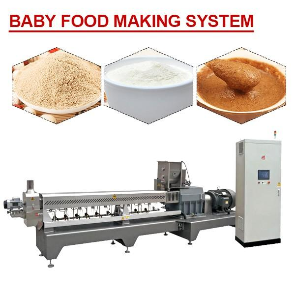 380V Stainless Steel Baby Food Making System,Twin-Screw Extruder #1 image