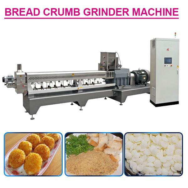 100kw Automatic Bread Crumb Grinder Machine With 500Kg/H Capacity #1 image