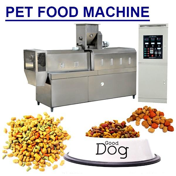 180-250kg/h Capacity Pet Food Extruder Cat Food Machine With Low Electricity #1 image