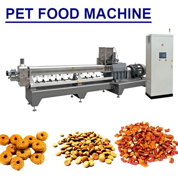 High Automatization Stainless Steel Pet Food Machine With 100-5000kg/h Production Capacity #1 image
