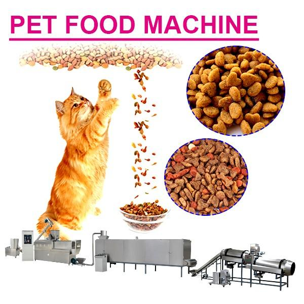 304 Stainless Steel Customized Pet Food Machine With 120-3500 Kg/h Output Capacity #1 image