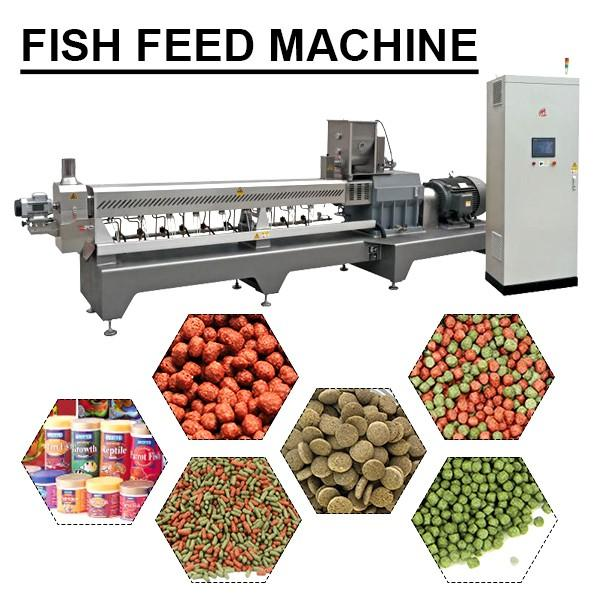 58kw Stainless Steel Fish Feed Machine With Bone Powder As Raw Materials #1 image