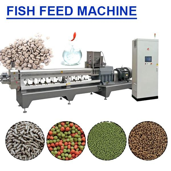 6kw-132kw Stainless Steel Fish Feed Machine At Cheap Price #1 image