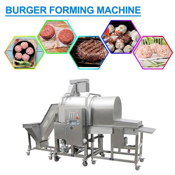 Easy Cleaning SUS304 Burger Forming Machine,High Efficiency #1 image