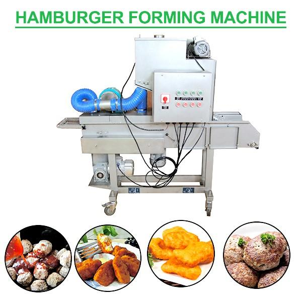 220V Industrial Burger Forming Machine With Operation Convenient #1 image