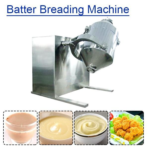 High Automation Batter Breading Machine With 500kg/h Production Capacity #1 image