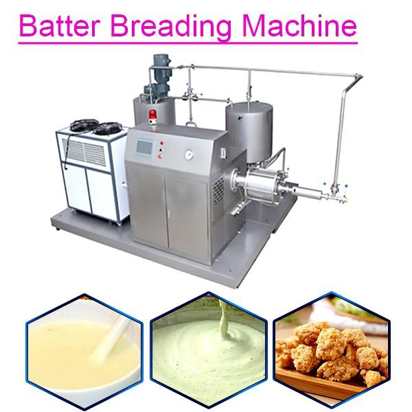 Continuous Batter Breading Machine For Burger Patty,Easy Operation #1 image