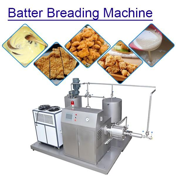 Big Capacity Batter Breading Machinery Rice Batter Machine,Iso Certification #1 image
